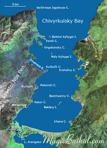 Chivyrkuisky Bay
