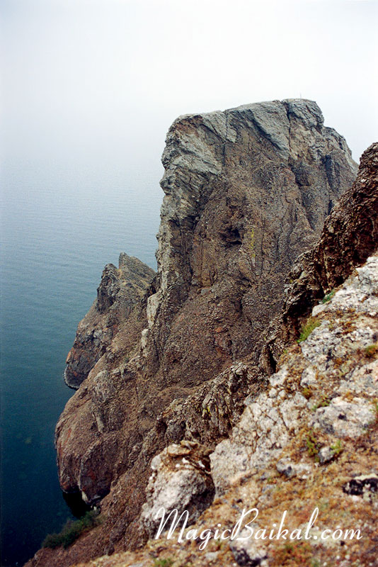 Cape Khoboy - the northern end of the Island of Olkhon.