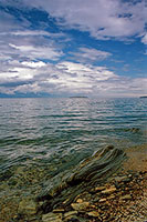 Maloye Morye Strait at Lake Baikal
